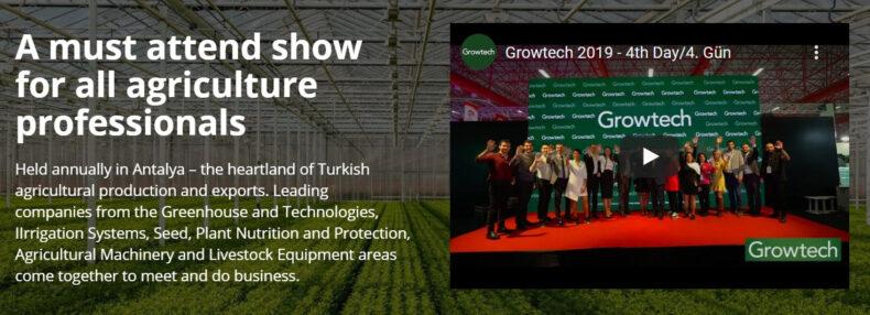 Beurzen - Export Partner - Growtech Turkije