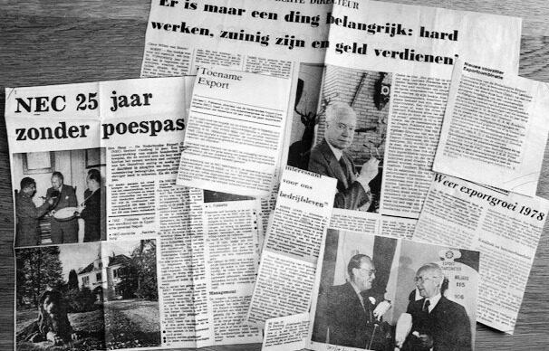 Krantenartikelen NEC