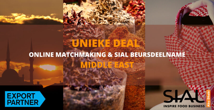 Deal matchmaking SIAL beurs Middle East