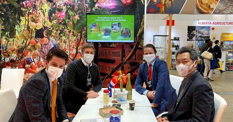 Coaching en Consultancy Foodbeurs Japan 2021